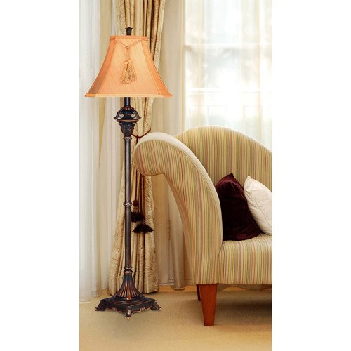 Kenroy Home 36123 Rowan 1 Light Floor Lamp Metallic Bronze