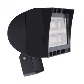Bronze Finish - RAB Lighting FXLED78TN- 78W Neutral LED Trunnion Flexflood Light