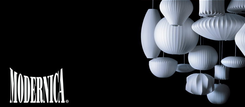 Modernica is the only authorized manufacturer of George Nelson Bubble Lamps