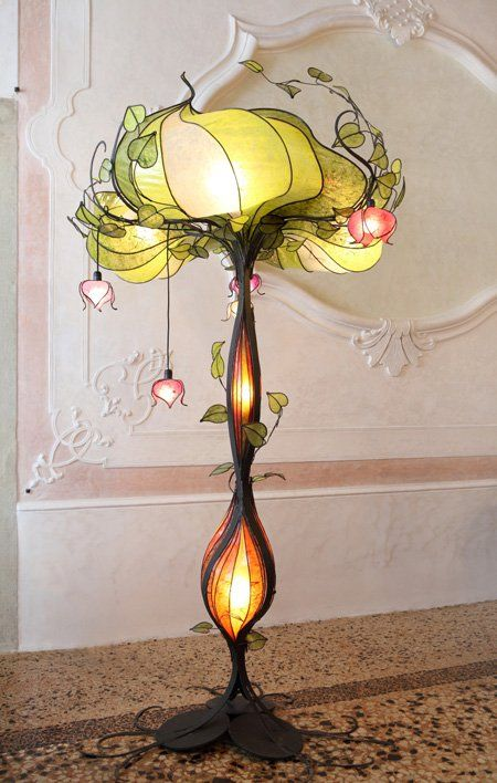 Art Nouveau inspired Lighting Brings Sophisticated Nostalgia to any room