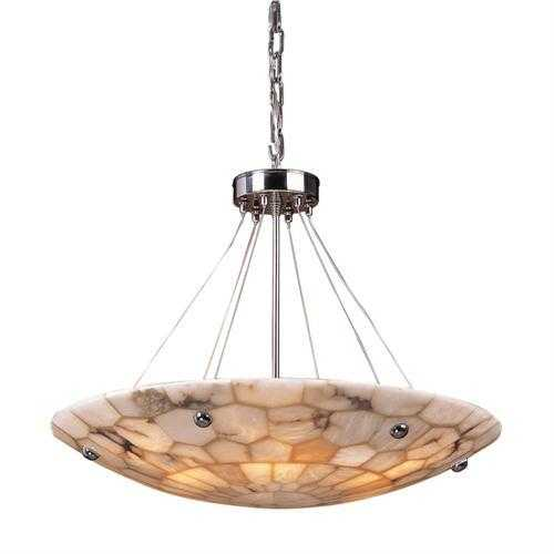 ELK Lighting 8851/6 Spanish Mosaic 6- Light Pendant Polished Chrome