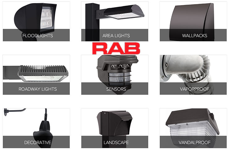 Rab Lighting fixtures - RAB Lighting: Champions In Outdoor Lighting Performance