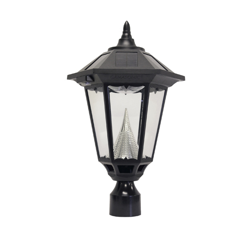Capture the energy of the sun and enhance your outdoor lighting experience with this beautiful Windsor Solar Lamp Post