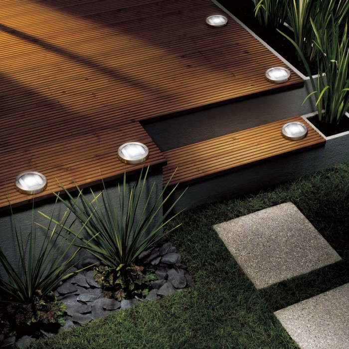 Ground Lights And Decking Lights From Easy Lighting
