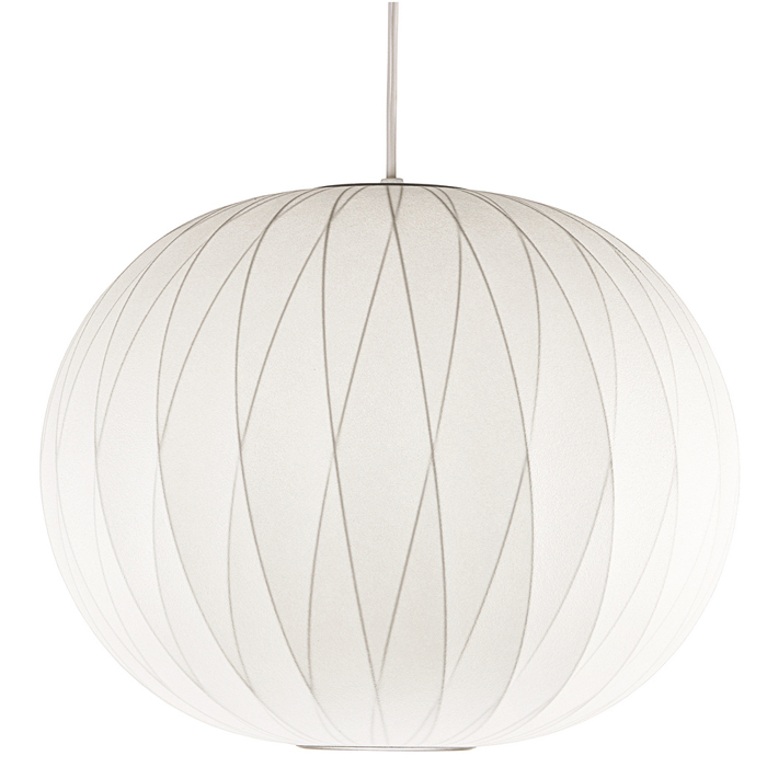 Modernica CRISS-CROSS-BALL-LAMP George Nelson Criss-Cross Ball Bubble Pendant  White Shade