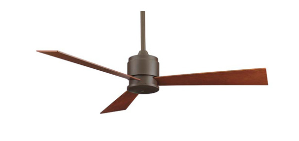 The Zonix is unipacked with fan control and blades included which makes this the perfect ceiling fan for anyone who wants contemporary fashion without any high maintenance hassles.