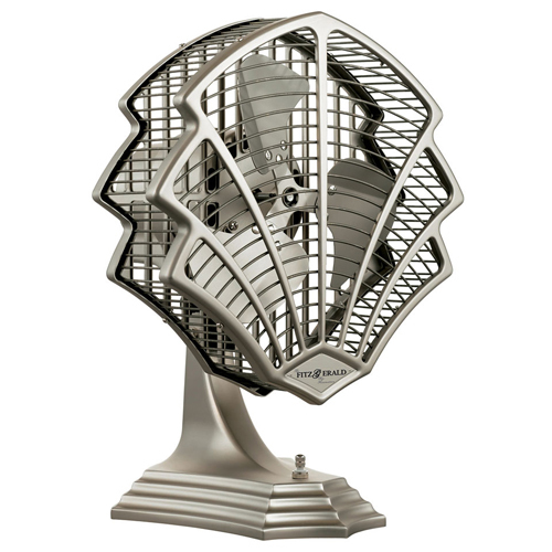 Inspired by the jazz style of the roaring twenties, the Fitzgerald is the kind of fan that will enliven the décor of any room.