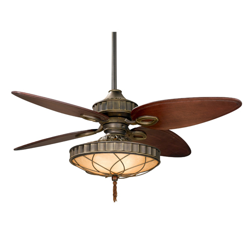 Fanimation LB270 Bayhill Ceiling Fan Filigree Bowl Venetian Bronze