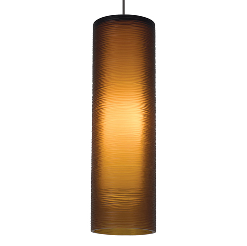 The outer glass cylinder of this pendant is meticulously etched and finished by hand in a four hour process. Canopy is not included.