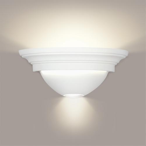 A19s Bisque wall sconces can be painted to match any decor!