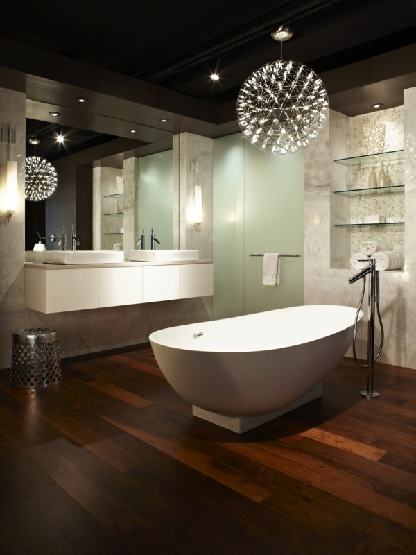 Vanity Lighting Ideas Bathroom : Bathroom Lighting Ideas