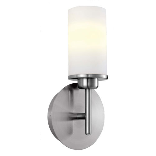 Matte Nickel Finish - Eglo Lighting Prato Modern 1- Light Wall/Ceiling Light