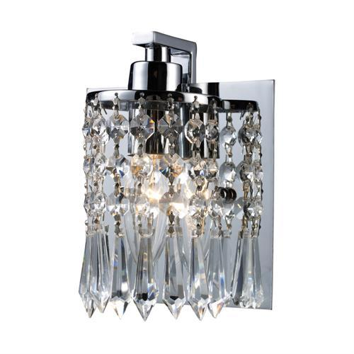 Polished Chrome Finish - ELK Lighting Optix 1- Light Bathroom Light