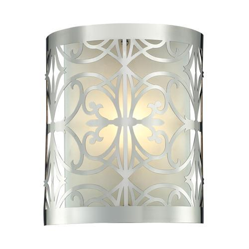 Polished Chrome Finish - ELK Lighting Willow Bend 1- Light Bathroom Light
