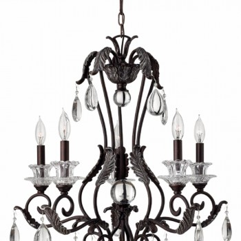 Hinkley Lighting 4405GR Marcellina 5 Light Chandelier Golden Bronze