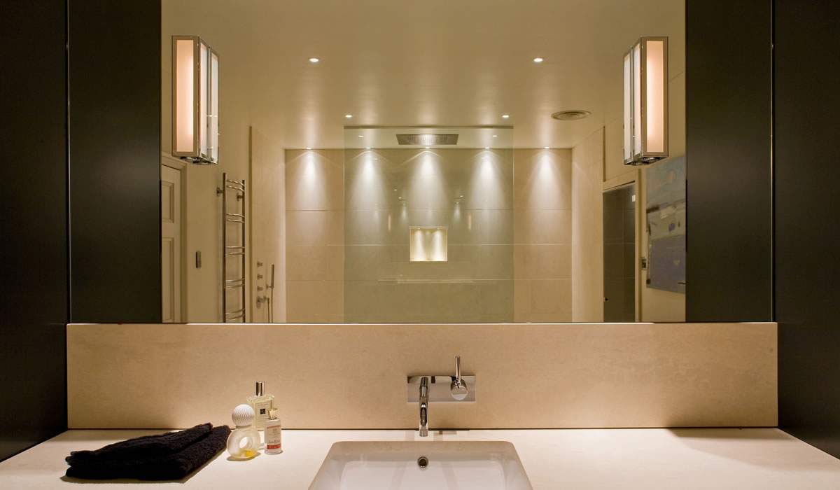 Bathroom lighting ideas for Espejos para banos