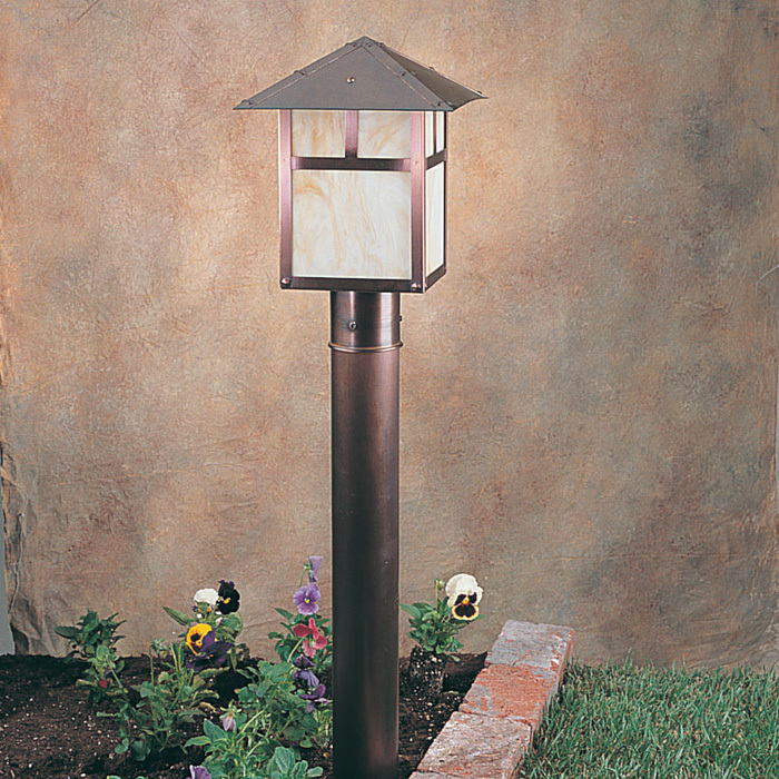SPJ Lighting SPJ28-01 Pitched Post Lantern