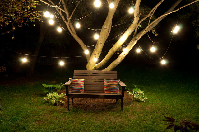 Outdoor Lighting Tips For Spring. Eclectic Patio By Clarissa Allison |  March 27th, ...
