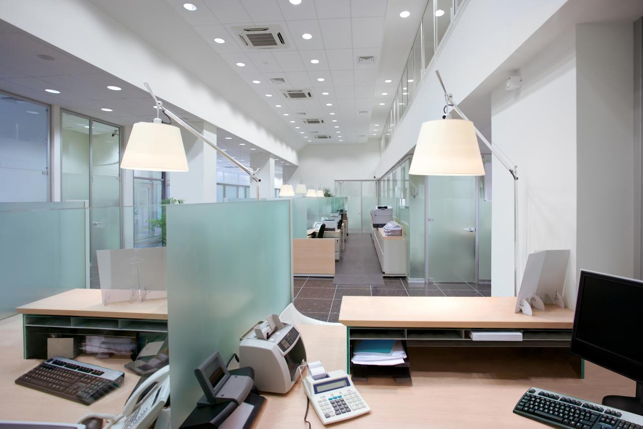 The benefits of updating office lighting louie lighting blog for Office images