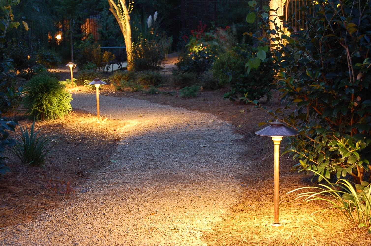5 Perfect Path Lights For The Home - Louie Lighting Blog on walkway landscape lighting, walkway lighting fixtures, walkway signage, walkway bollard lighting, walkway low voltage lighting,