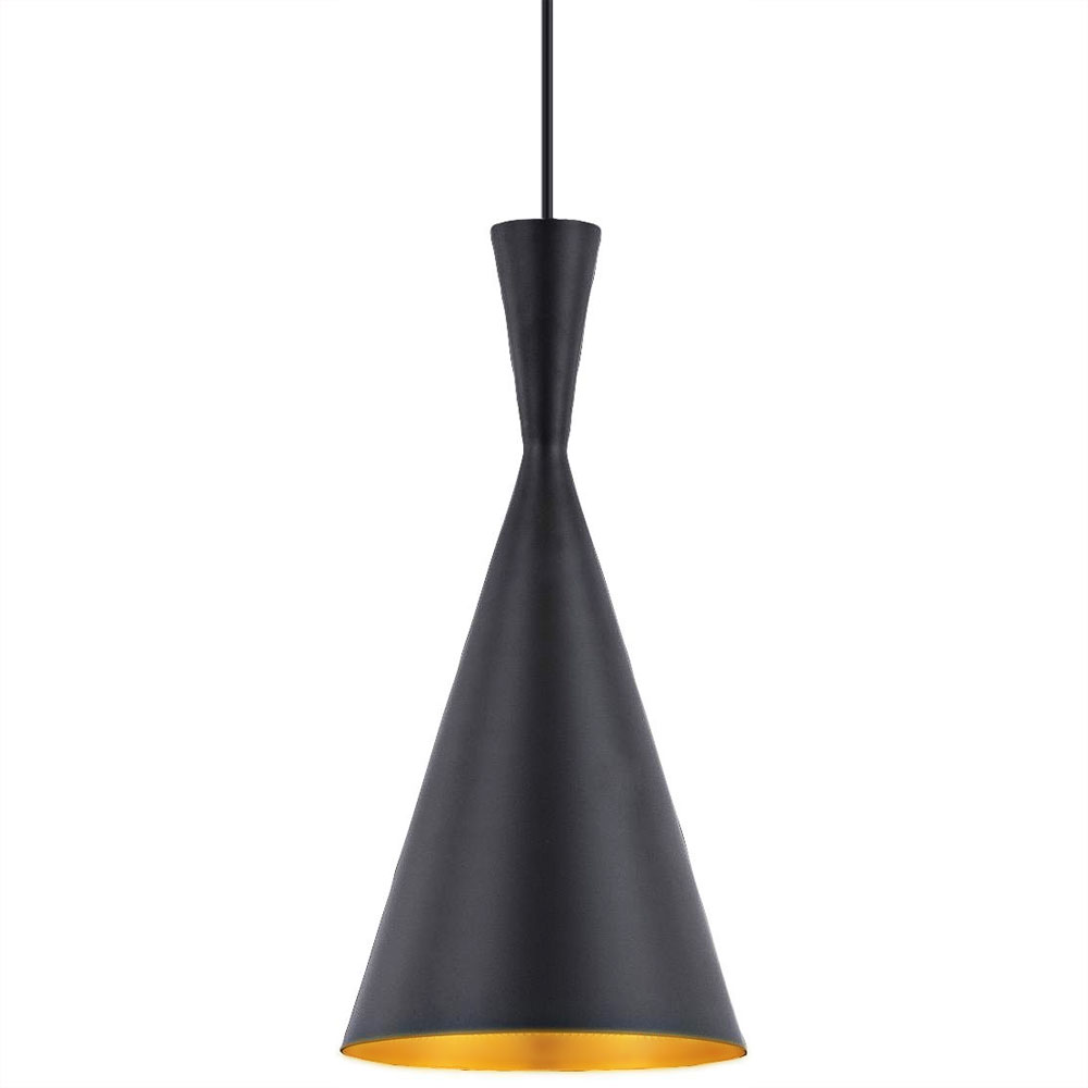 Bromi Design B6101 Berkley 1 Light Pendant Black