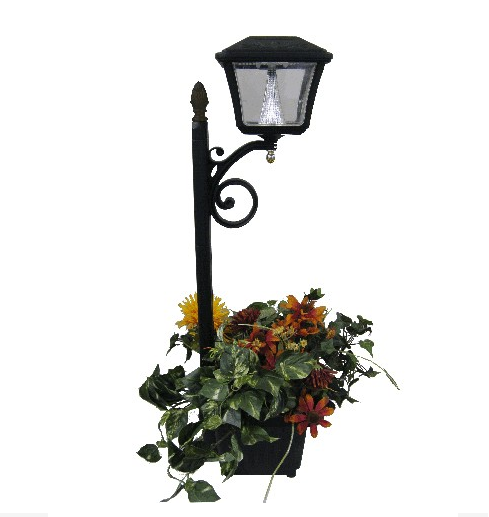 Solar LED Accent Light with Plantern
