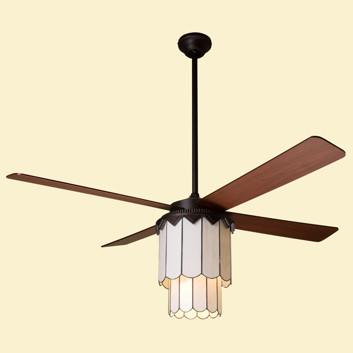 Period Arts Fans by Modern Fan PAR Paris Fan Rubbed Bronze