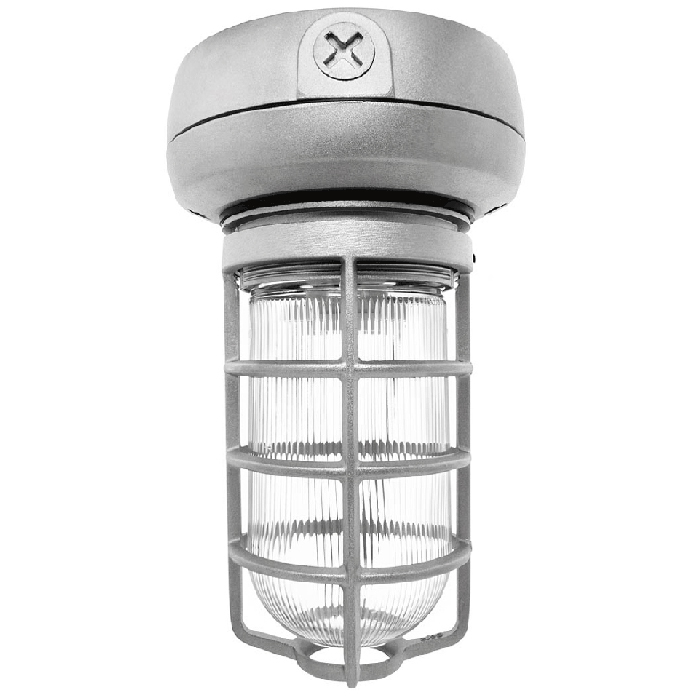 RAB Lighting VX1F26- Vaporproof CFL Ceiling 26W Quad Tap with Glass Globe