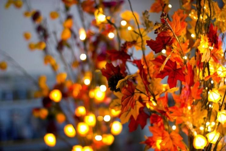 Fall Color String Lights : Festive Fall Lighting Ideas - Louie Lighting Blog