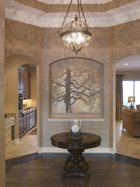 How Big Should Foyer Chandelier Be : Let your foyer light the way louie lighting