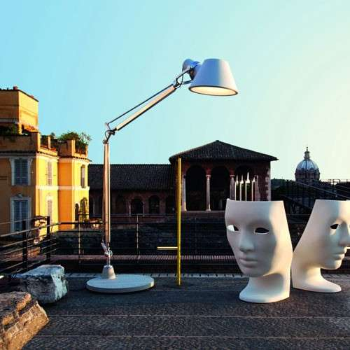 Tolomeo XXL Outdoor Floor Lamp by Artemide Lighting