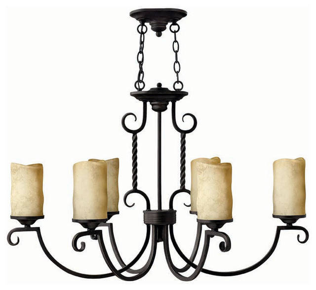 Hinkley Lighting 3508OL Casa Oval 6-Light Chandelier