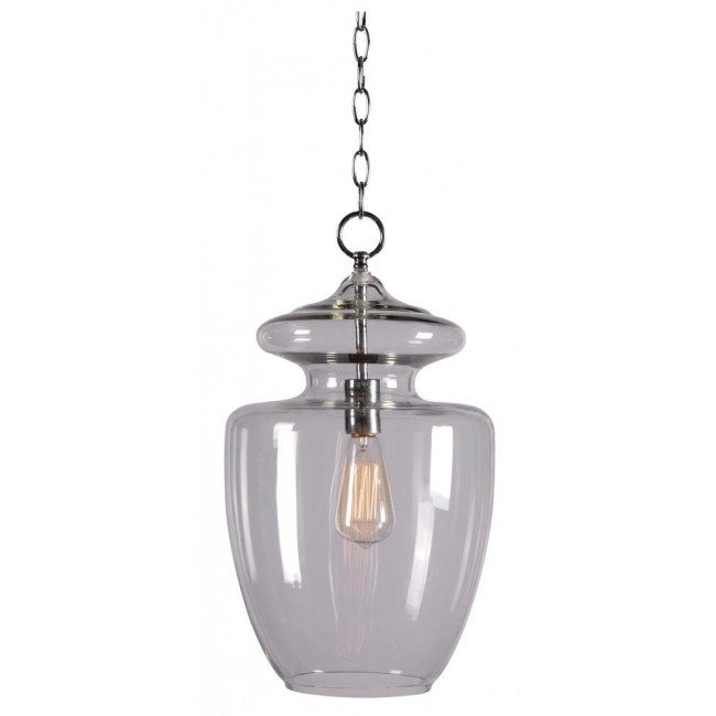 Apothecary 1 Light Pendant by Kenroy  Home