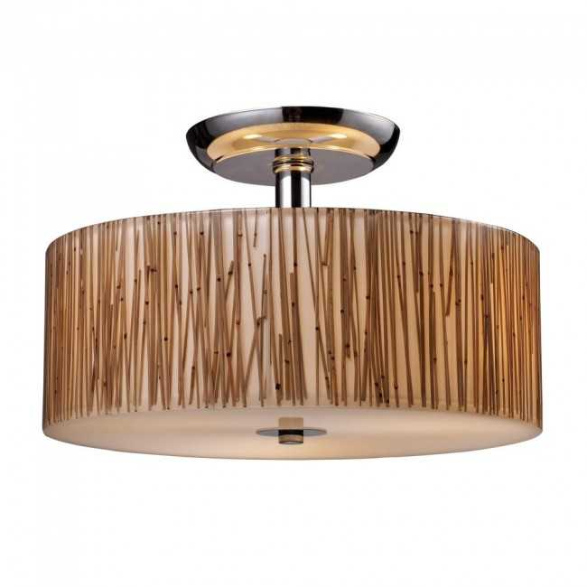 Elk Organics Semi Flush Ceiling Light