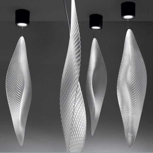 Cosmic Leaf Pendant by Artemide