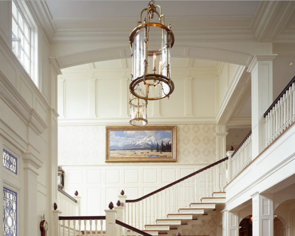 Make An Entrance With Foyer Lighting