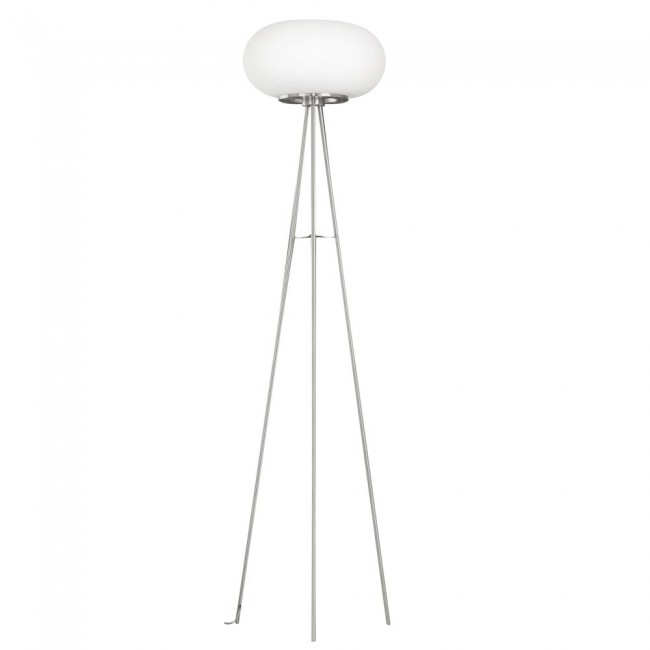 Eglo USA Optica 86817A Frosted Floor Lamp