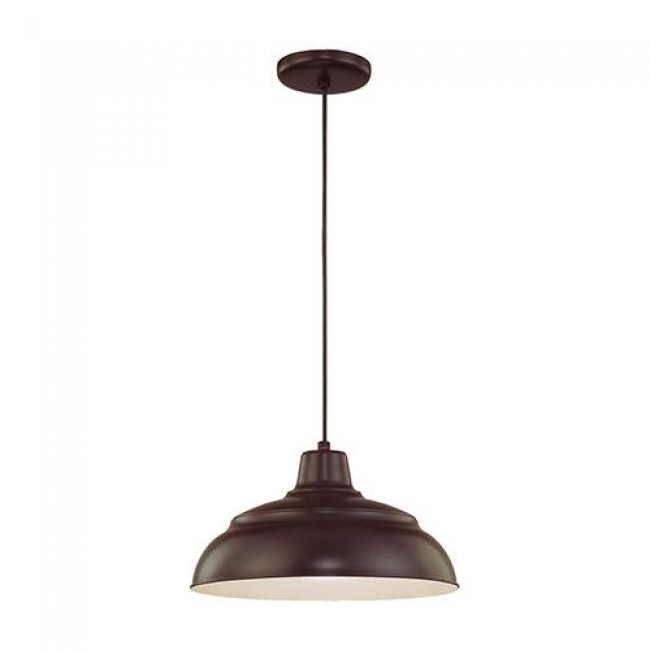 R Series Rlm 1 Light 14 Inch Warehouse/Cord Hung Pendant By: Millennium Lighting