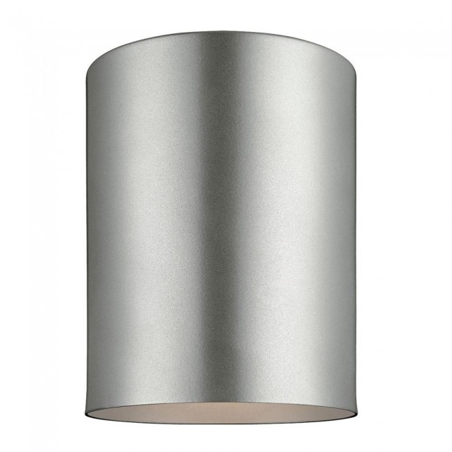 Cylinder One Light Outdoor Ceiling Flush Mount By: Sea Gull Lighting