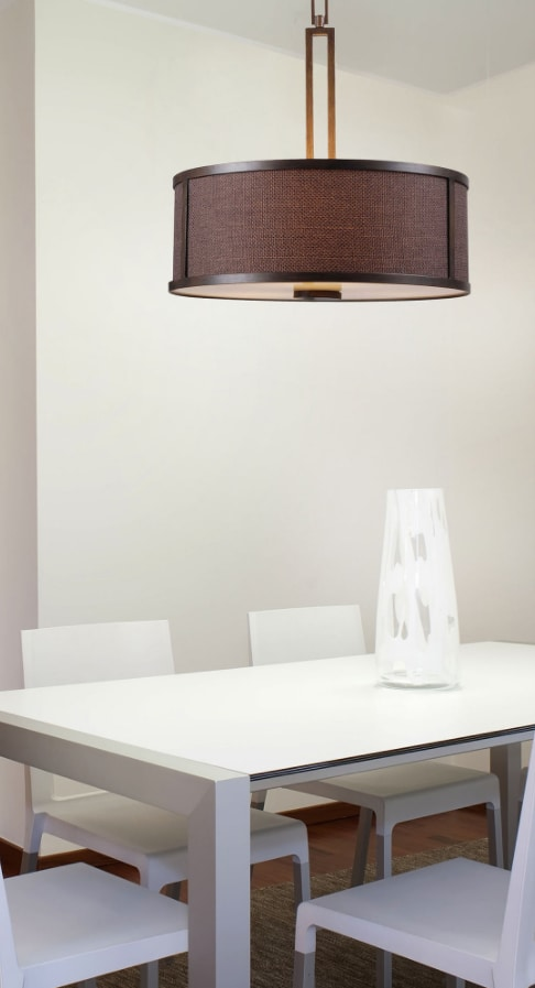 Keen 3 Light Pendant By: Kenroy Home