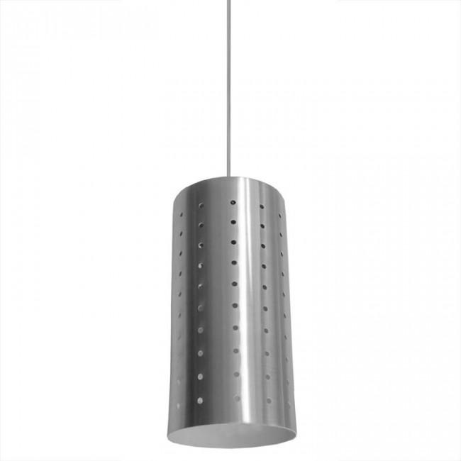 Bromi Design B5301 Camden Metal 1 Light Mini Pendant Stainless Steel