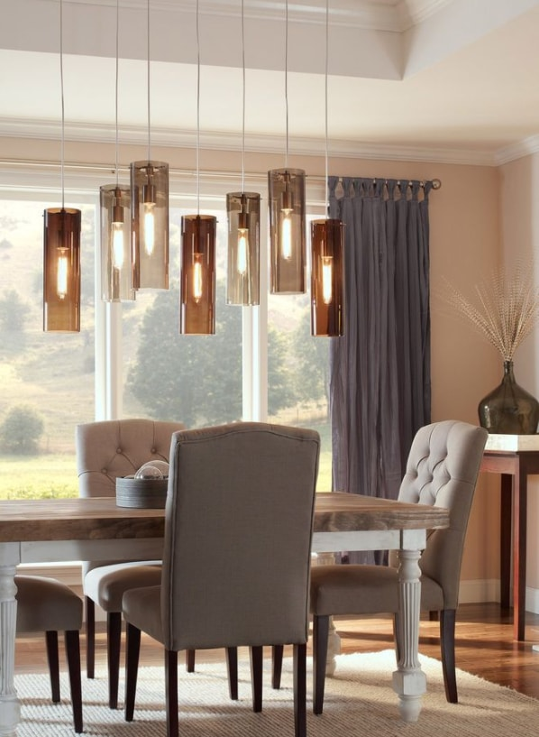 Beacon Pendant with Vintage Edison bulbs by Tech Lighting