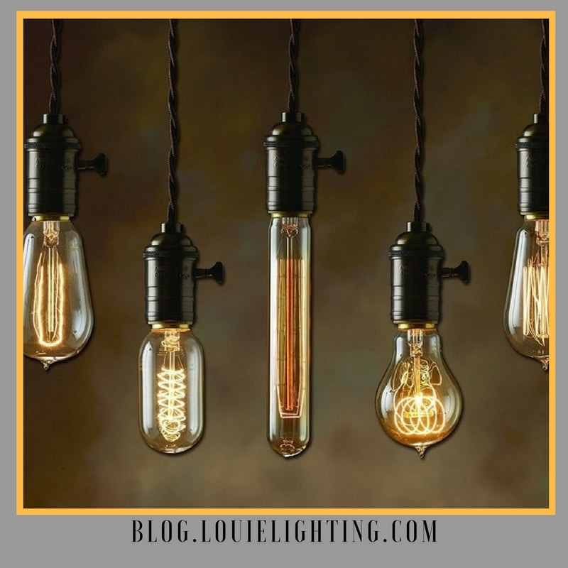 Nostalgic Edison Style Bulbs at Louie Lighting