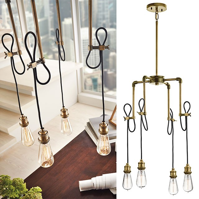 Rumer 4 Light Mini Chandelier By Kichler Lighting