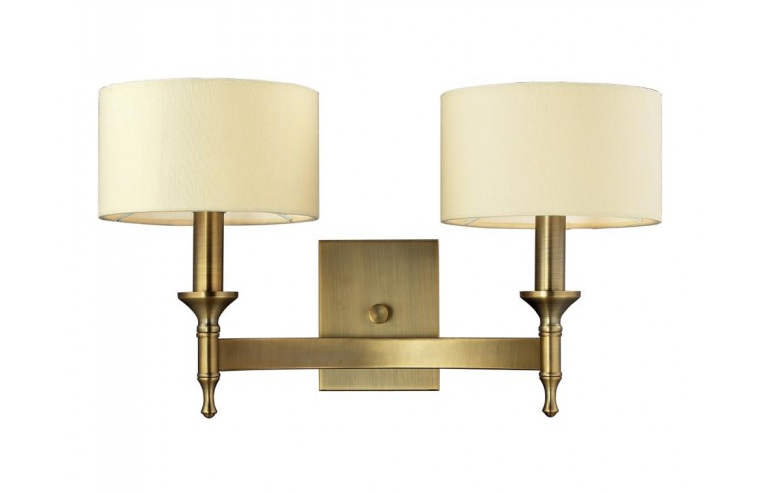 2- Light Wall Sconce In Antique Brass By: ELK Lighting